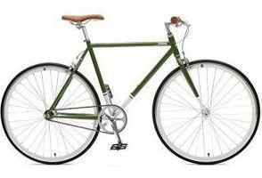 Fixie Hersteller - Fixie Brand Critical Cycles Harper grün