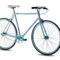 Fixed Gear Bike Chrisson FGS CrMo Gent blau
