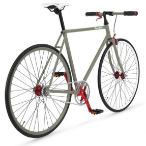 Singlespeed MBM double2 grau im Fixie Test 2020