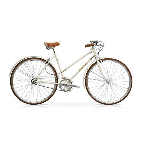 "Damen Fixie Bike Taurus Imperial Praga 3-Gang Vintage 28"""
