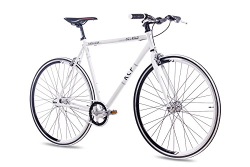 Singlespeed KCP FG-1 FLAT FIXED GEAR 1 Gang weiss (28 Zoll)