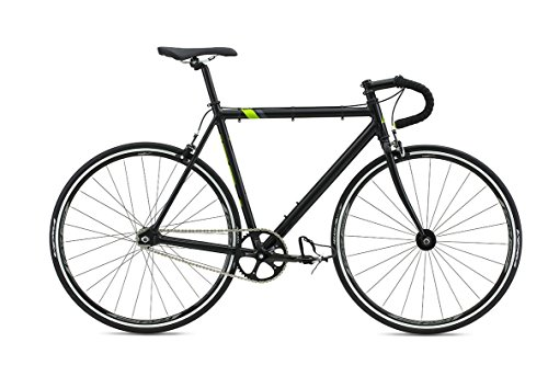 Fuji Track Fixed Gear Bike Singlespeed Schwarz/Lime 28""