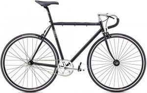 Fixie Bike Fuji Feather schwarz Singlespeed