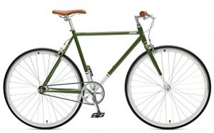 Fixed Gear Bike Critical Cycles Harper grün