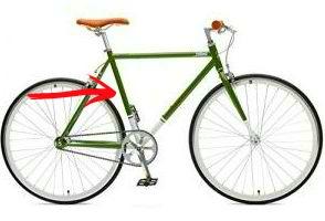 Fixie Bike Rahmengröße / Rahmenhöhe Critical Cycles Harper
