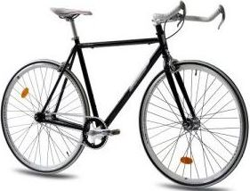 Fixie Hersteller KCP-Bikes - Fixie Brand KCP schwarz