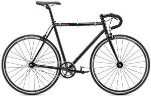 "Fixie Bike Fuji Track Singlespeed Schwarz/Rot 28"""