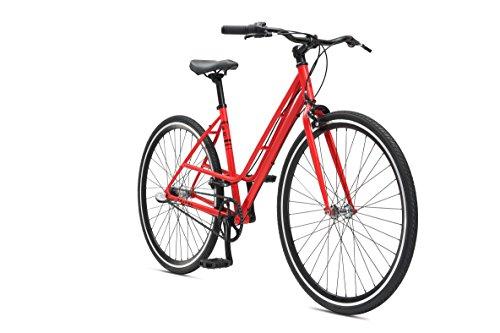 Damen Fixed Gear SE Bikes Tripel Woman Fixie rot 28 Zoll