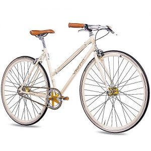 Damen Singlespeed Chrisson FGS CrMo Lady Creme