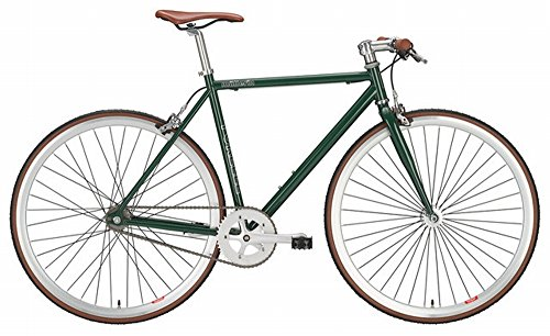 Singlespeed Forelle Müllerin Grün Hartje Fixie Bike 28 Zoll