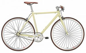Fixie Bike Forelle Müllerin creme Singlespeed 28 Zoll