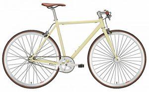 fixie bike forelle m llerin creme singlespeed 28 zoll. Black Bedroom Furniture Sets. Home Design Ideas