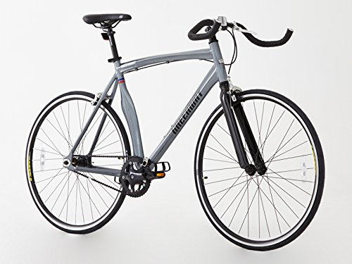 Urban Bike Greenway Alloy grau Fixie Bike