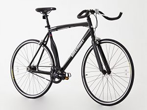 Fixed Gear Bike Greenway Alloy schwarz
