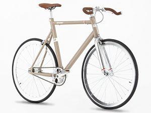 Singlespeed Greenway beige hellbraun Fixie Bike
