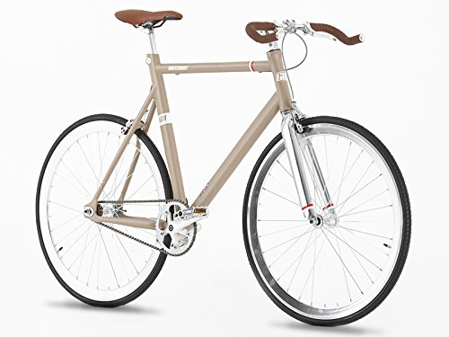 Singlespeed Greenway beige hellbraun Fixie Bike