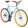 Fixie Critical Cycles Classic BMX Bar blau Singlespeed