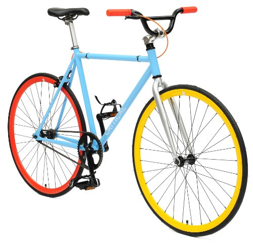 Fixie Critical Cycles Classic BMX Bar blau Singlespeed
