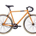 Fixie Tretwerk Alma orange Singlespeed 28 Zoll