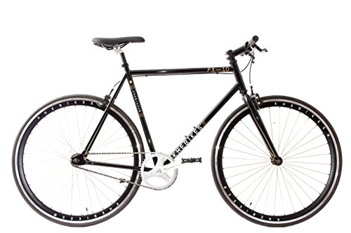 Fixie Bike KHE FX10 Schwarz - Black