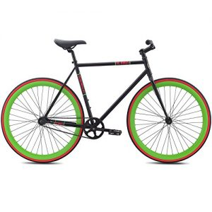 "Singlespeed SE Bikes Draft schwarz Fixie 28"""