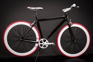 Jugend und Kinder Fixed Gear Bike Micargi schwarz