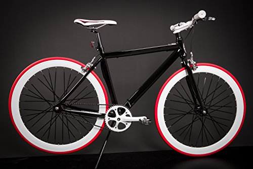 jugend und kinder fixed gear bike micargi schwarz 28. Black Bedroom Furniture Sets. Home Design Ideas