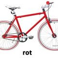 Kinder Fixie Bike Micargi 248 rot Jugend Singlespeed 24""