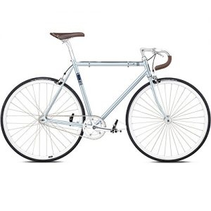 Fixie Fuji Feather Ice Blue Singlespeed blau