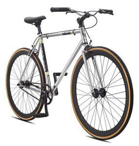 Fixed Gear Bike SE Bikes Draft Lite Chrom Singlepseed