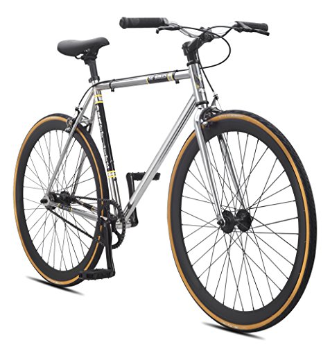 Fixed Gear Bike SE Bikes Draft Lite Chrom Singlepseed