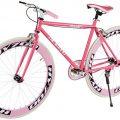 Kids Fixie Helliot Bikes Brooklyn H35 rosa