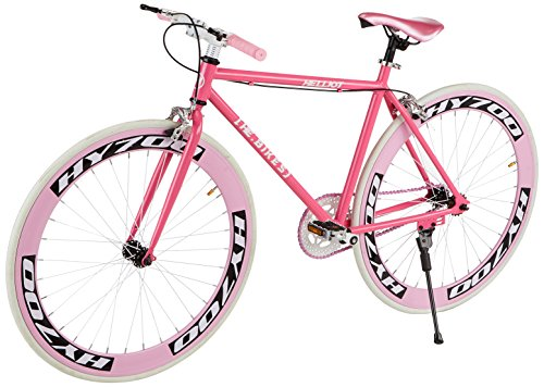 Kids Fixie Helliot Bikes Brooklyn H35 rosa