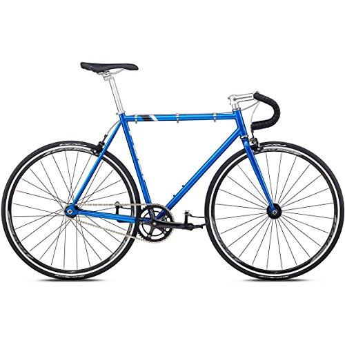 Singlespeed Fuji Track blau/schwarz Fixie