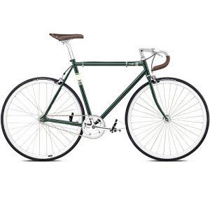 Fixed Gear Bike Fuji Feather green grün