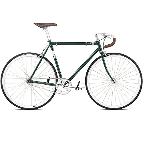 Fixed Gear Bike Fuji Feather green grün