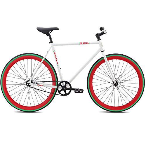 Fixie SE Bikes Draft weiss Urban Singlespeed