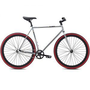 Fixie Bike SE Bikes Draft Silber Urban Singlespeed