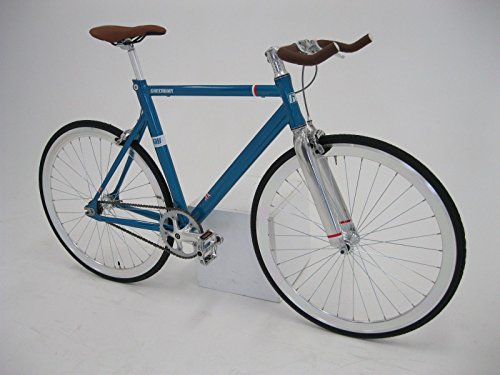 Fixie Bike Greenway blau Singlespeed 28 Zoll