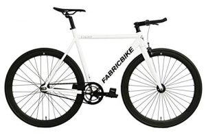 Fixie FabricBike Light weiß Singlespeed white Aluminium 28""