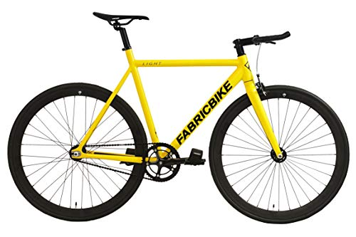 Singlespeed FabricBike Light gelb Fixie Aluminium 28""