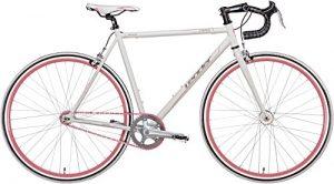 Fixie Bike Leader HERO weiß Rennradlenker Singlespeed