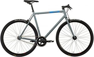 Fixie Bike FIXIE Inc. Floater grey Singlespeed grau