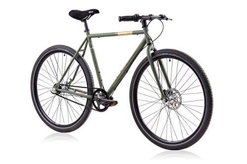 Fixie Bike Tretwerk Dominator grün Singlespeed