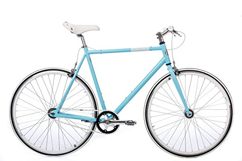 Fixed Gear Bike Tretwerk Alma blau Fixie