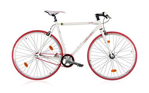fixie bike tretwerk leader ff1 wei singlespeed fixiefuchs. Black Bedroom Furniture Sets. Home Design Ideas