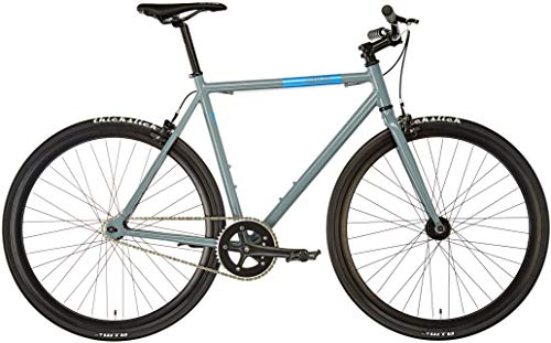 Fixie Inc. Floater Dolphin Grey im Singlespeed und Fixie Test 2019