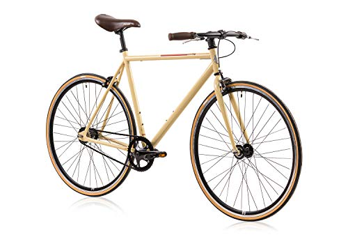 Singlespeed Tretwerk Ace of Spades beige Fixie