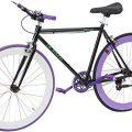 Jugend und Kinder Fixie Helliot Bikes Brooklyn H19 schwarz