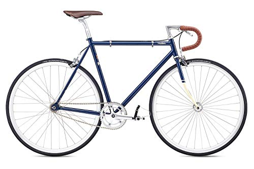 Fixie Bike Fuji Feather blau Singlespeed navy